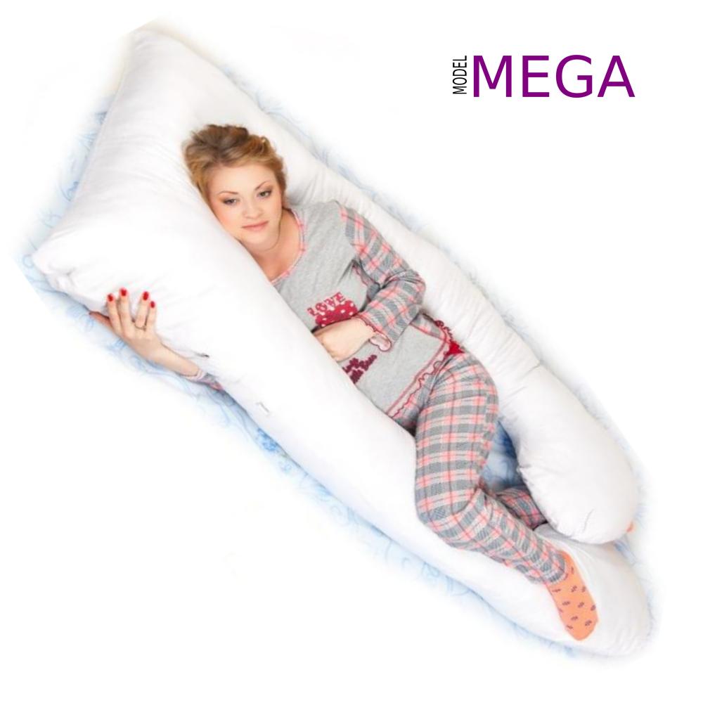 poduszka dla kobiet w ciąży typ U model Mega